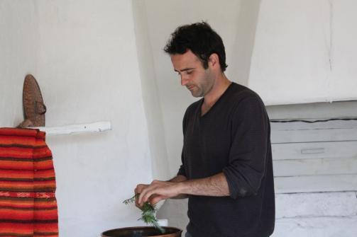 destilando romero
